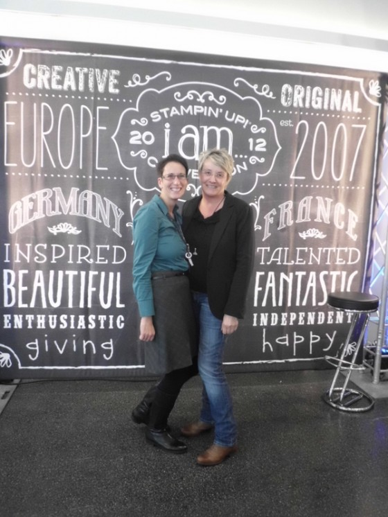 Stampin`Up! Convention 2012 in Mainz-Fotowand