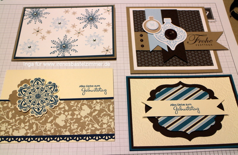 Stampin' Up!-Serene Snowflakes