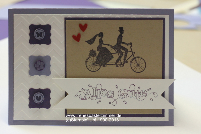 Hochzeitskarte-Wedding Wheels-Stampin' Up!