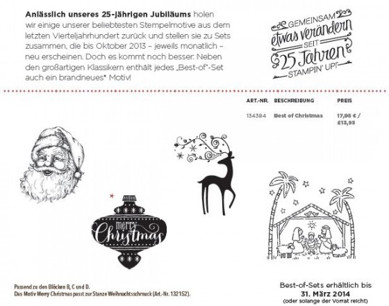 Stampin'Up!-Best of Christmas