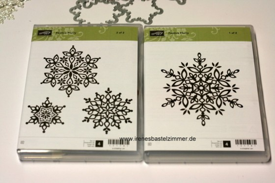 Stampin' Up!-Festive Flurry-Flockentanz-himmelblau-embossing