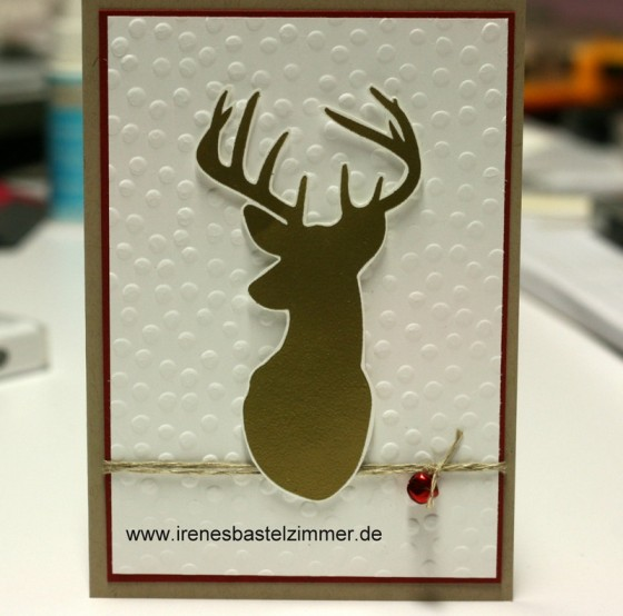 Stampin' Up!-Remembering Christmas-Rentier