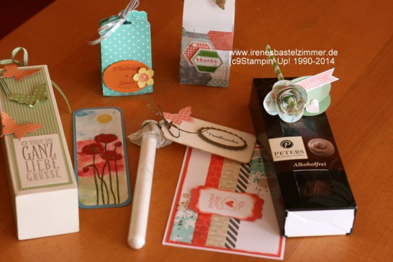 Stampin' Up!-Demotreffen-swaps