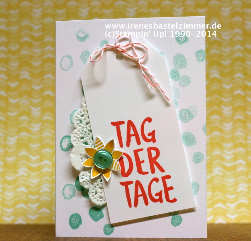 Stampin' Up!-Tag der Tage-Sale-a-bration