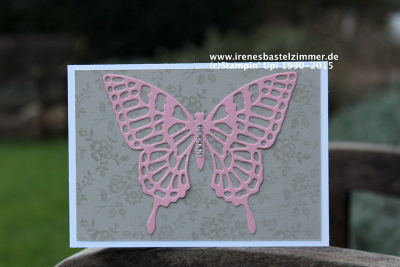 Stampin' Up!-Thinlits Schmetterlinge-I love Lace