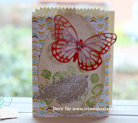 Stampin' Up!- Frohe Osterbotschaft-Osterkarte