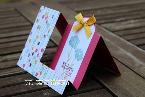 stampinup-side step karte-painted petals