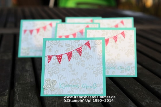 Stampin' Up!-Something Lacy-Fähnchen