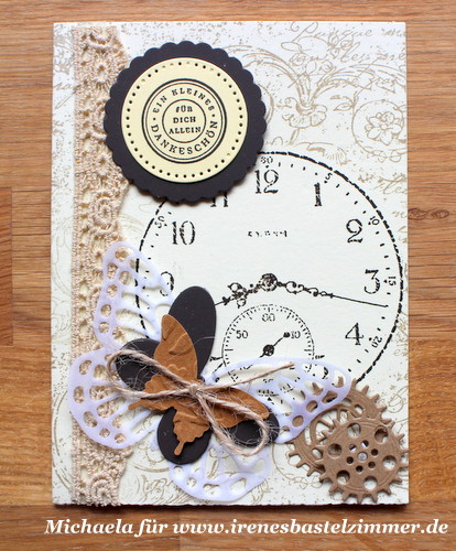 Stampin' Up!_Clockworks_Schmetterling