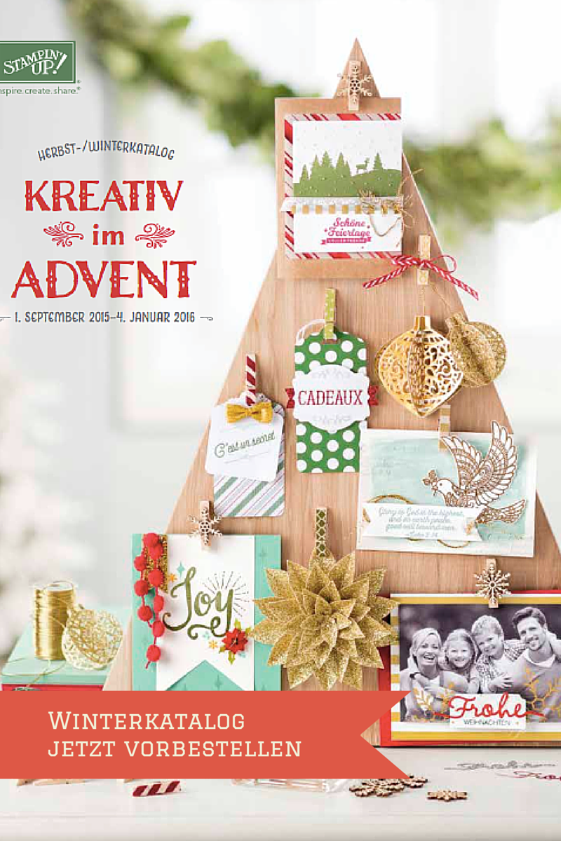 Winterkatalog-Stampin' Up!
