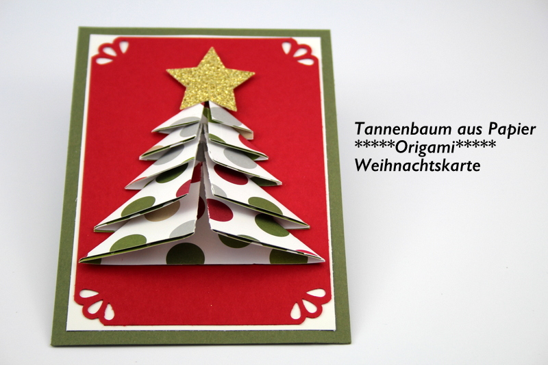 origami tannenbaum aus papier anleitungsvideo. Black Bedroom Furniture Sets. Home Design Ideas