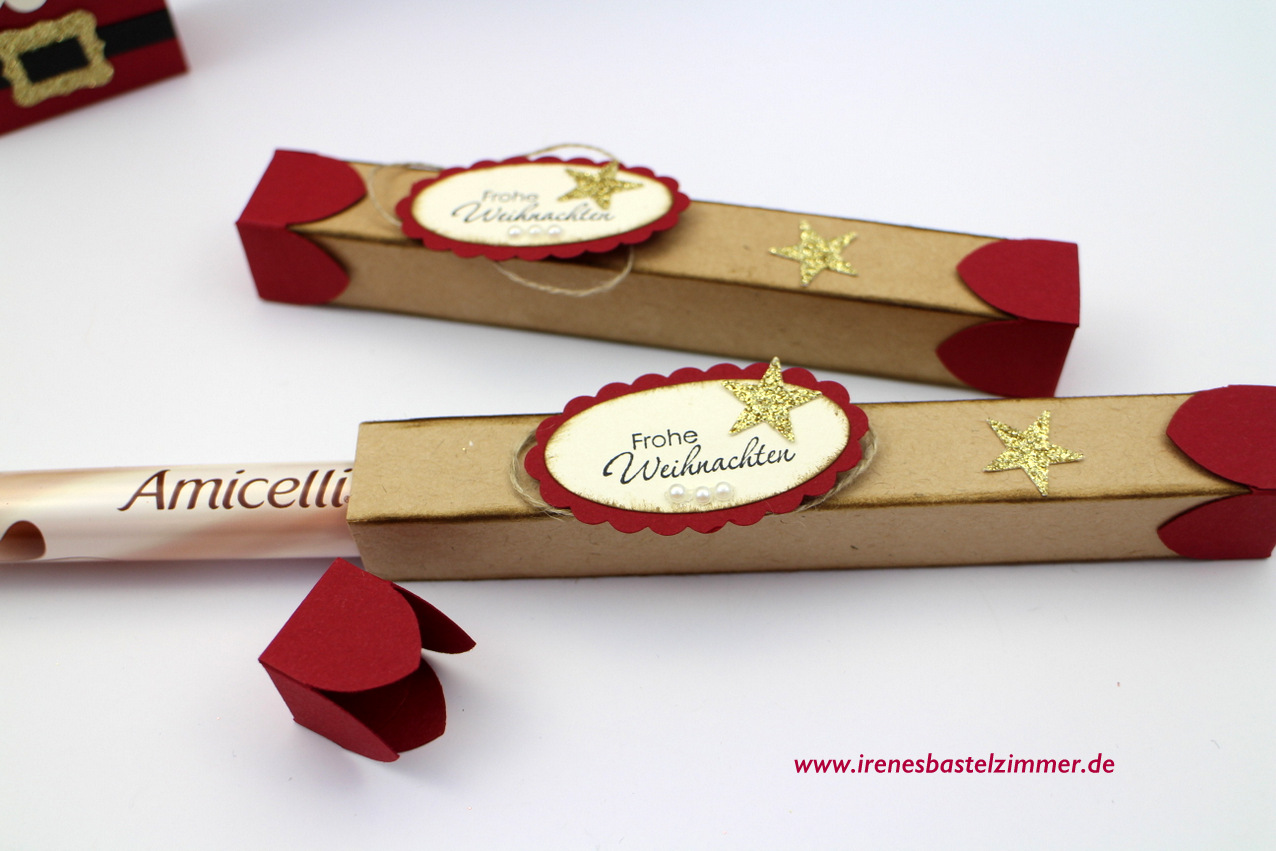 weihnachten box stampin up
