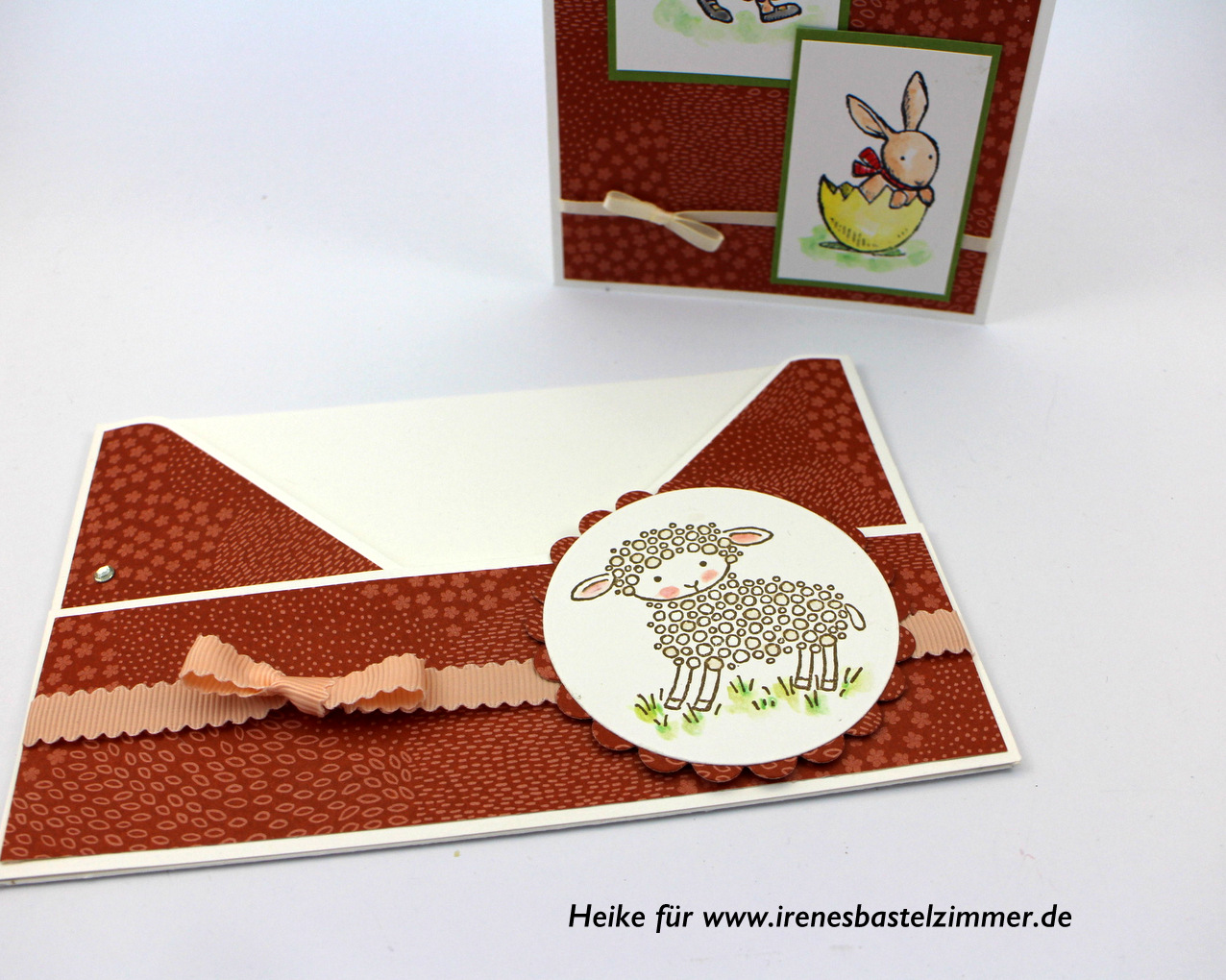 Osterkarte-stampinup-Hasenparade-Easter-Lamb