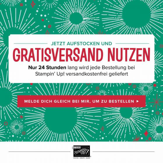 Gratis versand-Stampin' Up!