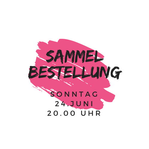 Sammelbestellung 29. April