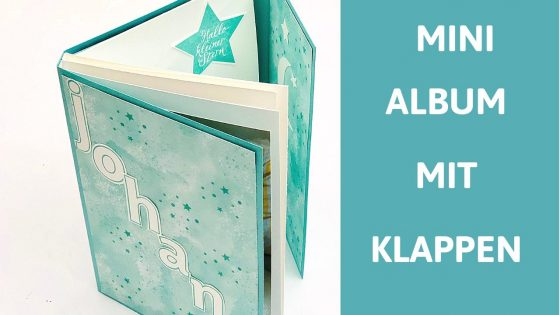 Mini Album mit Klappen-stampinup-Stampin' Up!