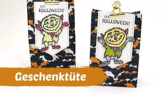 Halloween-Geschenktüte-Stampin' Up!-DIY-Last-Minute