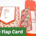 Triple-flap-fold-card-stampin' Up!-basteln